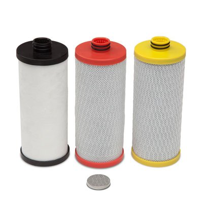 Aquasana AQ-5300R 3-Stage Under Sink Water Filter Replacement Cartridges by Aquasana