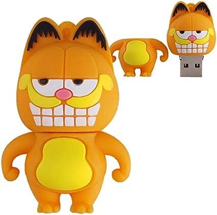 Pendrive Personalizado De 32gb Desenho Filme Gato Garfield