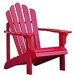 Shine Company Westport Adirondack Chair, Tomato Red