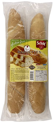 Schar Parbaked Baguettes, 2 Count (Pack of 6) (Baguette Bread)