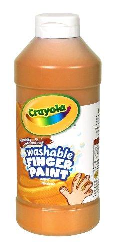 Binney Crayola Washable Finger Orange