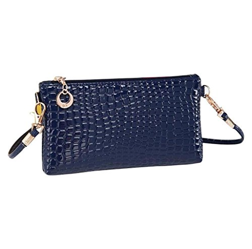 1ee63512f Shoulder Crossbody Clutch Handbagazul Crocodile Returom Women Messenger  Leather rsxdtQCh