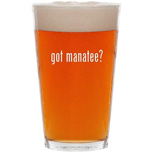 got manatee? - 16oz All Purpose Pint Beer Glass