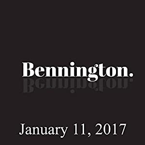 Bennington, January 11, 2017 Radio/TV Program