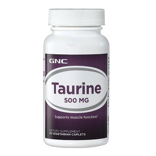 GNC Taurine 500, Tablets, 50 ea