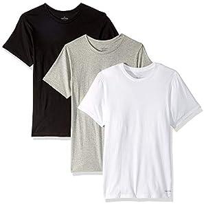 Best Epic Trends 41e2uWZUSzL._SS300_ Calvin Klein Men`s Cotton Crew Neck Classic Fit T-Shirts 3 Pack