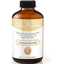 4oz - Premium Quality Frankincense Essential Oil (4 Ounce Bottle with Dropper) Therapeutic Grade Frankincense Oil