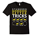 Mens Gordon Setter T-shirt 2XL Black