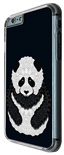 337 - Pattern Panda cute Design iphone 6 PLUS / iphone 6 PLUS S 5.5'' Coque Fashion Trend Case Coque Protection Cover plastique et métal