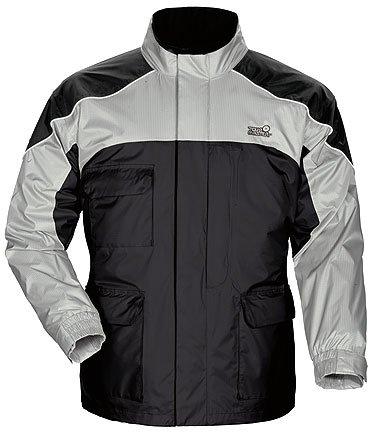 Tour Master Sentinel Men's Jackets Sports Bike Racing Motorcycle Rain Suit - Black / 3X-Large