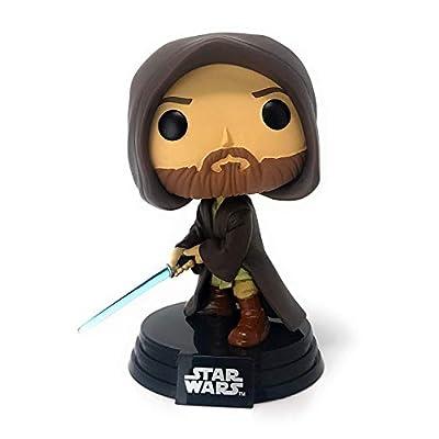 Funko POP! Star Wars Young OBI-Wan Kenobi #273 (Hooded with Light Saber): Toys & Games