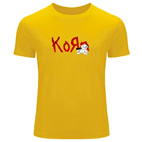 korn doll Printed For Men's T-shirt Tee Outlet (T-shirts Printed Korn)