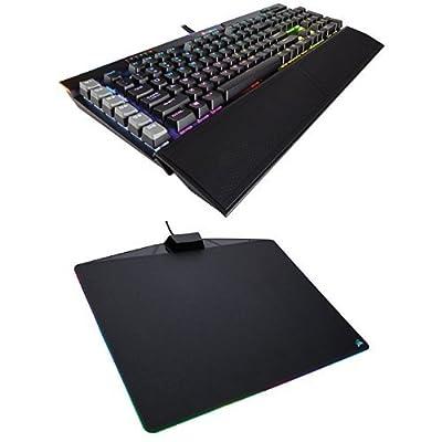 Corsair Gaming K95 RGB PLATINUM Mechanical Keyboard, Cherry MX Brown, Black (CH-9127012-NA)