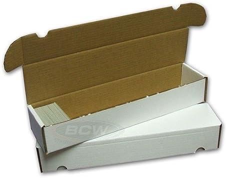 BCW - Caja para almacenar 900 cartas (10 unidades): Amazon.es ...