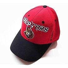 Reebok NHL Ottawa Senators 2014-2015 Kids 2nd Season Red/Black Hat Cap Osfa