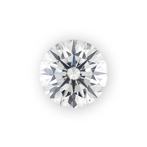 1/2 ct Round Brilliant Cut 5.00 mm G SI Loose Diamond Natural Earth-mined