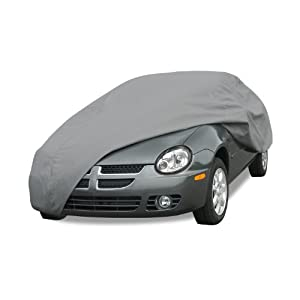 Budge Lite Car Cover Fits Sedans up to 200 inches, B-3 - (Polypropylene, Gray)