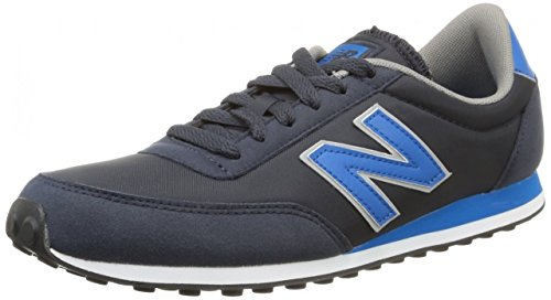 New Balance U410 D - Zapatillas de Deporte de lona Unisex adulto negro