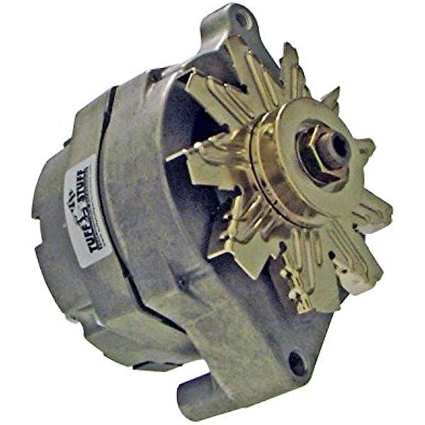 Amazon.com: Tuff Stuff 7068 Alternator (100 Amp Ford 1 Wire V-Groove):  Automotive | Tuff Stuff Alternator Wiring Diagram |  | Amazon.com