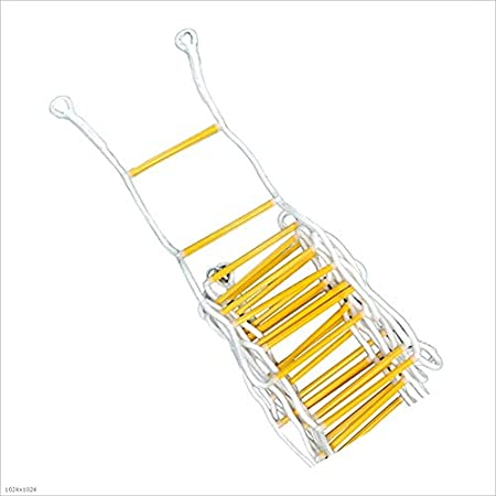 Love lamp Escaleras Plegables Escalera portátil multipropósito Escalera Plegable Ayuda Trapezoidal rápida como Profesional Amarillo + Blanco Escaleras Telescópicas: Amazon.es: Hogar