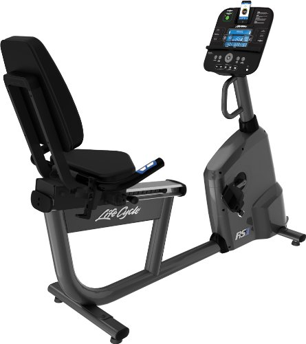 Life Fitness RS1 Track Recumbent Lifecycle Exercise Bikes