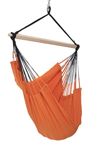 Colombian Hammock Chair Natural Tangerine product image