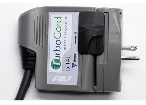 AeroVironment TurboCord Dual Plug-in EV Charger, 120 & 240 Volt ...