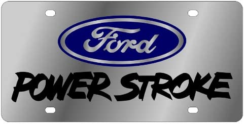 Ford Powerstroke License Plate