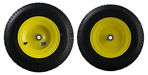 MARASTAR 21456 2 Pack Front Tire Assembly Replacement for John Deere