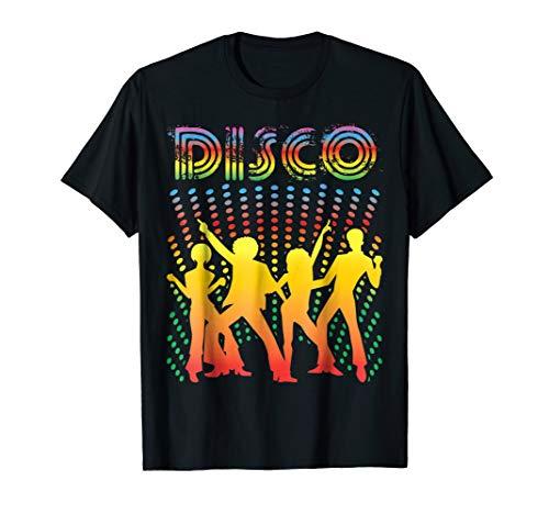 - Disco T-Shirt - Vintage Style Dancing Retro Disco Shirt