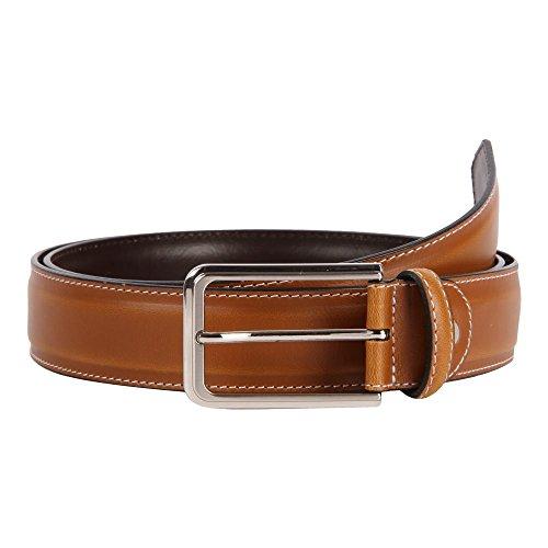 31-32 Affilare Men's Dress Belt 35mm Tan 12PX113TN from Affilare