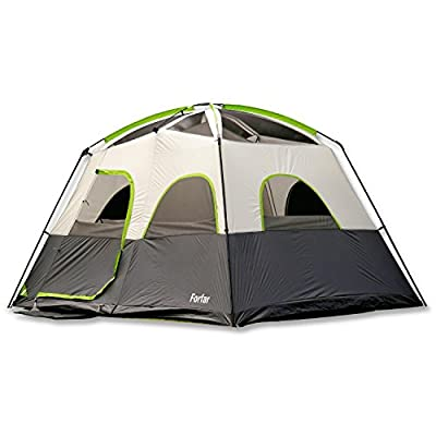 Forfar Camping Tent Family Tent 3 Seasons Waterproof Windproof Outdoor Camping Family Tent