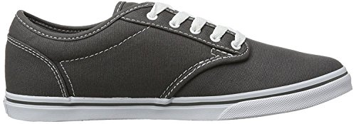 VANS Womens Shoes Atwood Low Pewter/White Sneakers AA6Xi5Mjb