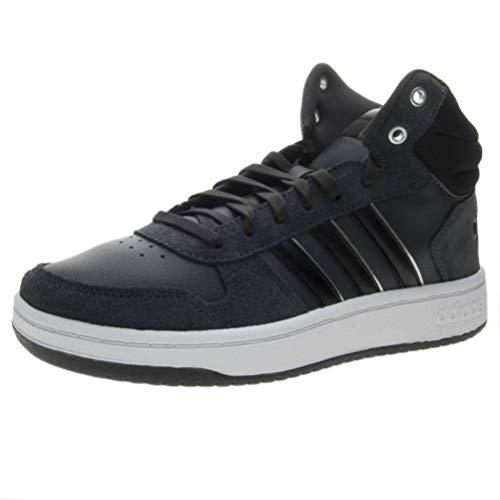 silvmt Mid Schwarz Scarpe Adidas cblack Hoops cblack Donna Cblack Basket cblack Da 2 0 silvmt tqB1wBP