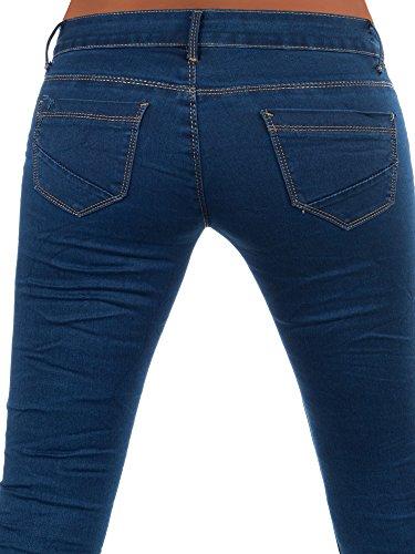 jeans Skinny Jeans Donna Diva Blau Basic UqgC0C