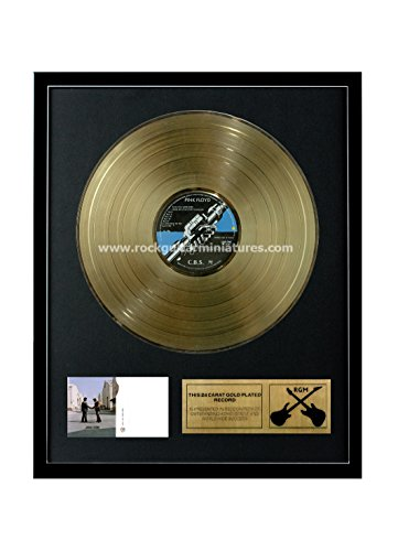 RGM1160 Pink Floyd Wish You Were Here Gold Disc 24K Plated LP 12 24k Gold Plated Record