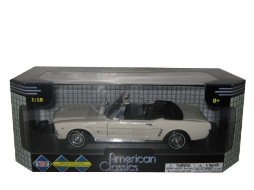 1964 1/2 Ford Mustang Convertible Cream 1:18 by Motormax 1964 1/2 Mustang Convertible