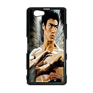 Kung Fu Star Cool Bruce lee Phone Case Cover for Sony Xperia Z1 Compact / Z1 mini