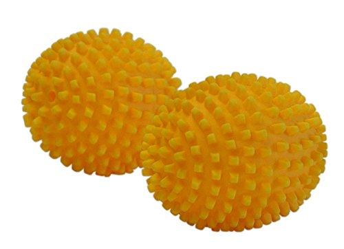 4 Stück (2x 2er Set) purclean Trocknerbälle, flauschige Wäsche und ökologisch Weichspüler sparen