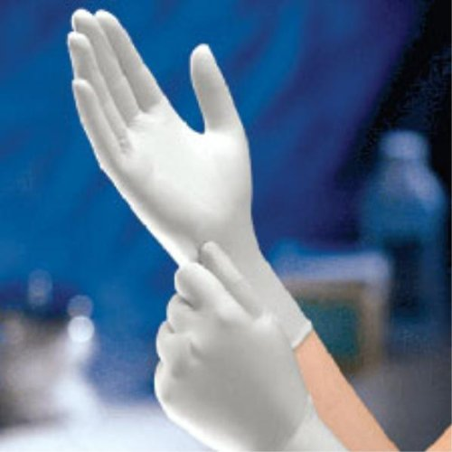 Safe-Touch Disposable Latex Exam Gloves, Powder-Free, Size Large, Case of 10/100s (1000 ct)
