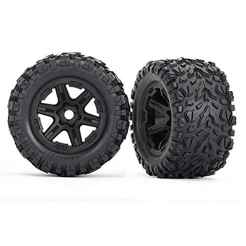 Traxxas 8672 Wheels with Talon Ext Tires, 3.8