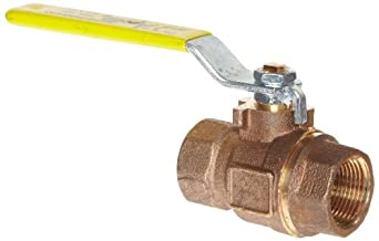 Apollo 77CLF-100 Series Bronze Ball Valve, Potable Water Service, Two Piece, Inline, Lever, NPT Female