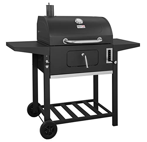 Royal Gourmet CD1824A Charcoal Grill,BBQ Outdoor Picnic, Camping, Patio Backyard Cooking, Black (Charcoal Grill Barbeque)