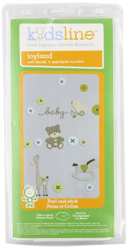 Kids Line Wall Decals, Toyland (Discontinued by Manufacturer)