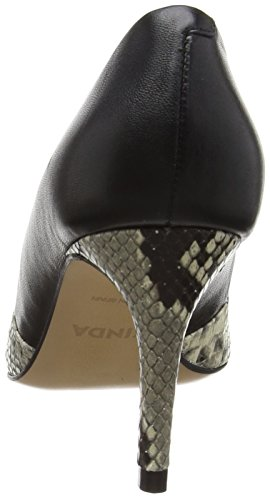 Tacco Zinda 2003 Col marmo schwarz Scarpe Donna Nero qt8tHB