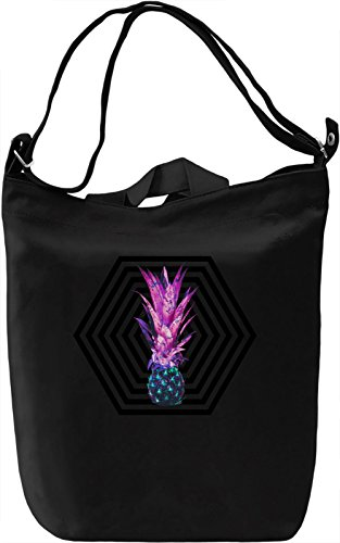 Pineapple Borsa Giornaliera Canvas Canvas Day Bag| 100% Premium Cotton Canvas| DTG Printing|