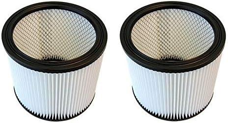 (2) Shop Vac 90398 Wet Dry Cartridge Filter Type AA