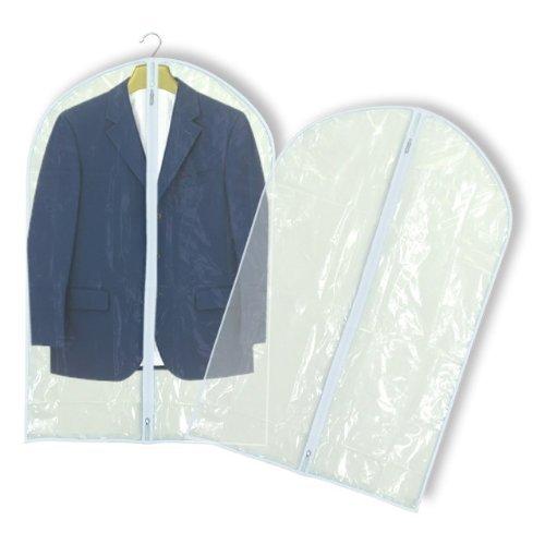Hangerworld Clear Zipped Garment Clothes