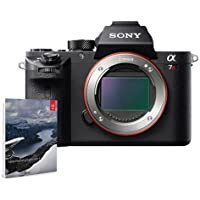 Sony a7R II Alpha Full Frame Mirrorless Digital Camera Body - Bundle with Adobe Photoshop Lightroom 6