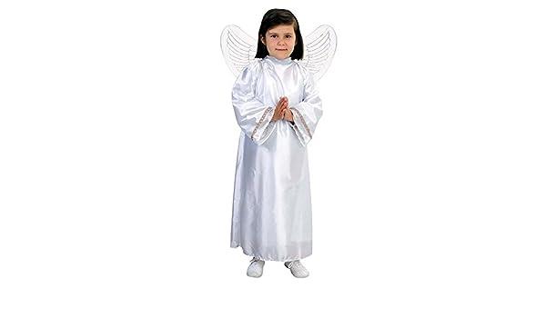 EL CARNAVAL Disfraz Angelito Talla de 8 a 10 años Alas no ...